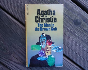 The Man in the Brown Suit by Agatha Christie Book