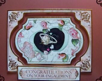 Congratulations Engagement Card