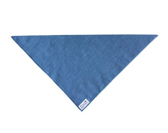 Denim Dog Bandana (made with or without Personalization)