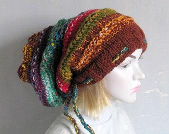 womens hat women slouchy beanie winter hat  slouchy knit hat slouchy beanie hat women knit slouchy hat dreadlocks hat mens slouchy hat