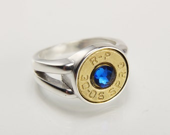 Mens bullet ring Etsy