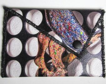 Banana Peel Abstract Art Wallet