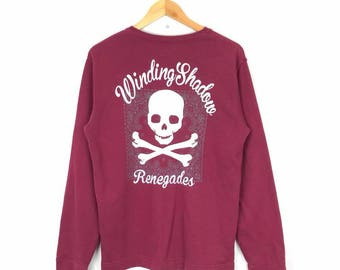 Rare!! Vintage Windong Shadow Renegades Sweatshirt Size M