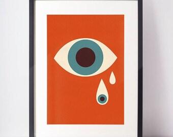 evil eye | poster | a2