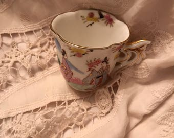 Vintage tiny tiny tea cup marked made in japan