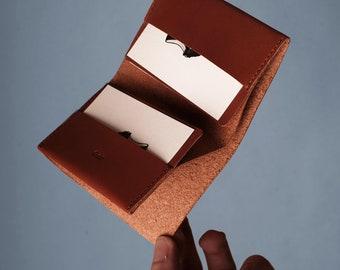 Glein Pocket Wallet - Brown