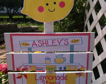 Lemonade Birthday Yard Sign