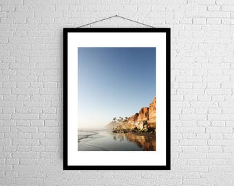 Evening Glow | West Coast | California Cliffs | Photography Print