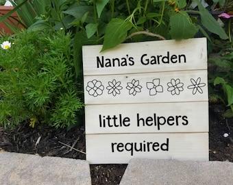 Garden Gift, Grandma Gift, Nana, Grandparents Gift, Just Because, Grandkids Gift, Gardening Gift, Nana Gift