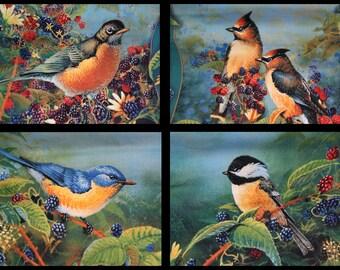 Berry Birds Pillow Collection