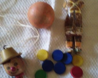 Junk drawer stash for Assemblage  Altered Art Supplies includes game pieces