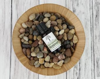 Organic Marjoram Essential Oil • Therapeutic Grade • Pure • Uncut • 10 ml With Dropper Caps • USA •