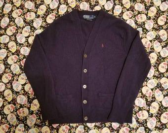 Polo Ralph Lauren lamb wool cardigan sweater