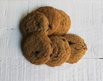 chocolate chip cookies - VEGAN