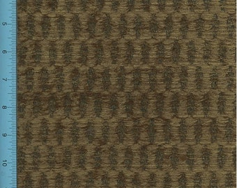 Chenille Hummarrock Bark Brown Home Decorating Fabric, Fabric By The Yard