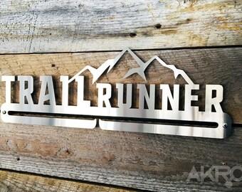 """Medal Hanger / Medal Rack - TRAIL RUNNER 18"""""""