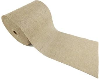 """50 Yards - 12"""" Premium Burlap Roll -- Eco-Friendly Natural Jute Burlap Fabric - 150 Foot - 12 Inch Wide"""