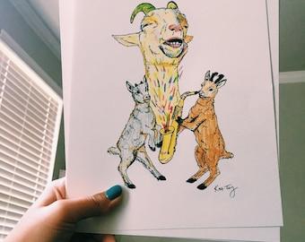 Sax goats
