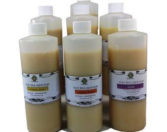 Liquid Soap Refills, Goat Milk Liquid Soap, Body Wash Refill