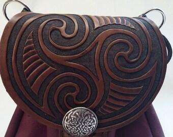 triskele Celtic sporran pouch