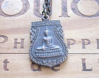 Vintage Buddha Buddhist Necklace