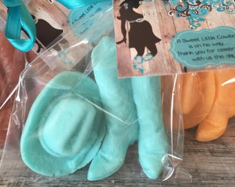 Cowboy Boots and Hat Soap Favors: Baby Shower Favors, Bridal Shower Favors, Birthday favors, Soap favors,Cowboy Favors, Country Favors