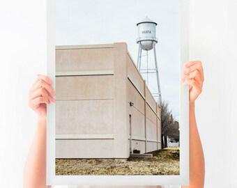 Marfa Texas Print, West Texas Photography, Architecture Art, West Texas Home Decor, Texas Art Print, Large Wall Art, Marfa Gift