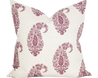 Shiraz pillow cover in Pasha