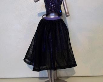 Barbie Crop Top Dress