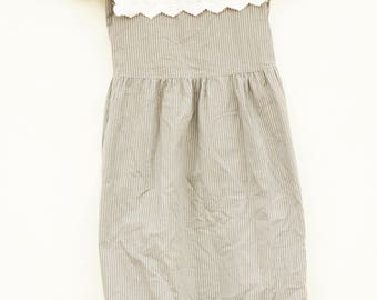 Vintage 70s-80s Gunne Sax Dress/Retro/Country Style/Victorian