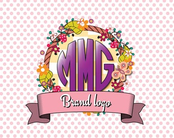 Custom Logo Graphic for Small or Online Businesses • Custom Designed • Specializing in Craft Businesses