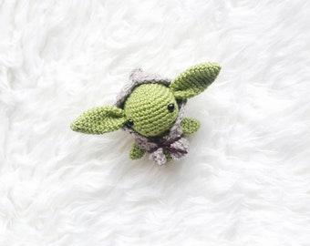 Amigurumi PATTERN -Master Yoda  Star Wars - Crochet Star Wars Pattern