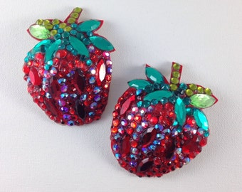 Strawberries - burlesque pasties