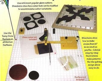 Morton - TEENY CIRCLE SYSTEM - Glass Circle Cutter with Turn Table +More