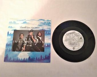 "IMAGINATION Thank you my Love 7"" Vinyl Single Record R&B Records UK 1984"