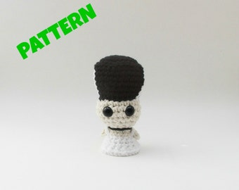 Amigurumi Frankensteins Bride Pattern, Frankenstein Pattern, Amigurumi Doll Pattern, Crochet Patterns, Amigurumi Patterns, Toy Doll Pattern