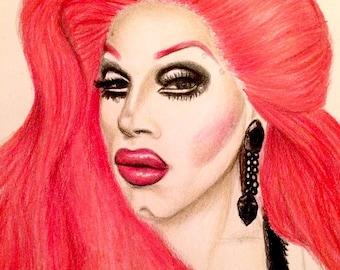 Sharon Needles Artwork