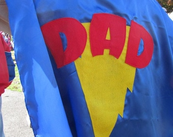 2 Adult Custom Superhero Costume Cape Custom MOM and  DAD