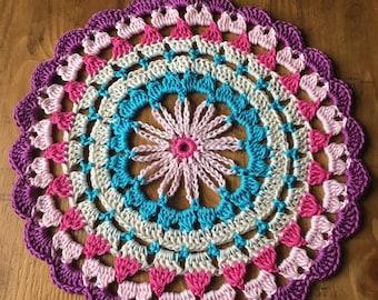 Crochet Dainty Daisy Mandala