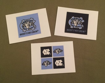 UNC - University of North Carolina Tar Heels Note cards - pack of 8