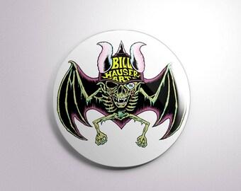 """Bill Hauser Art 2.25"""" button"""