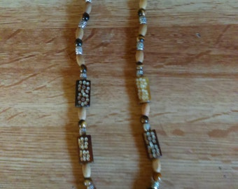 Beaded Tigers eye Necklace
