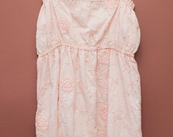 Jayne Dress- Plus Size Pink Floral 1950s Dress