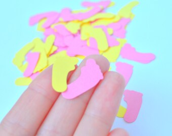 Baby Shower Confetti Feet Confetti Feet Baby Shower Decoration Baby Shower Confetti Baby Girl Shower decorations Party Confetti Girl Baby