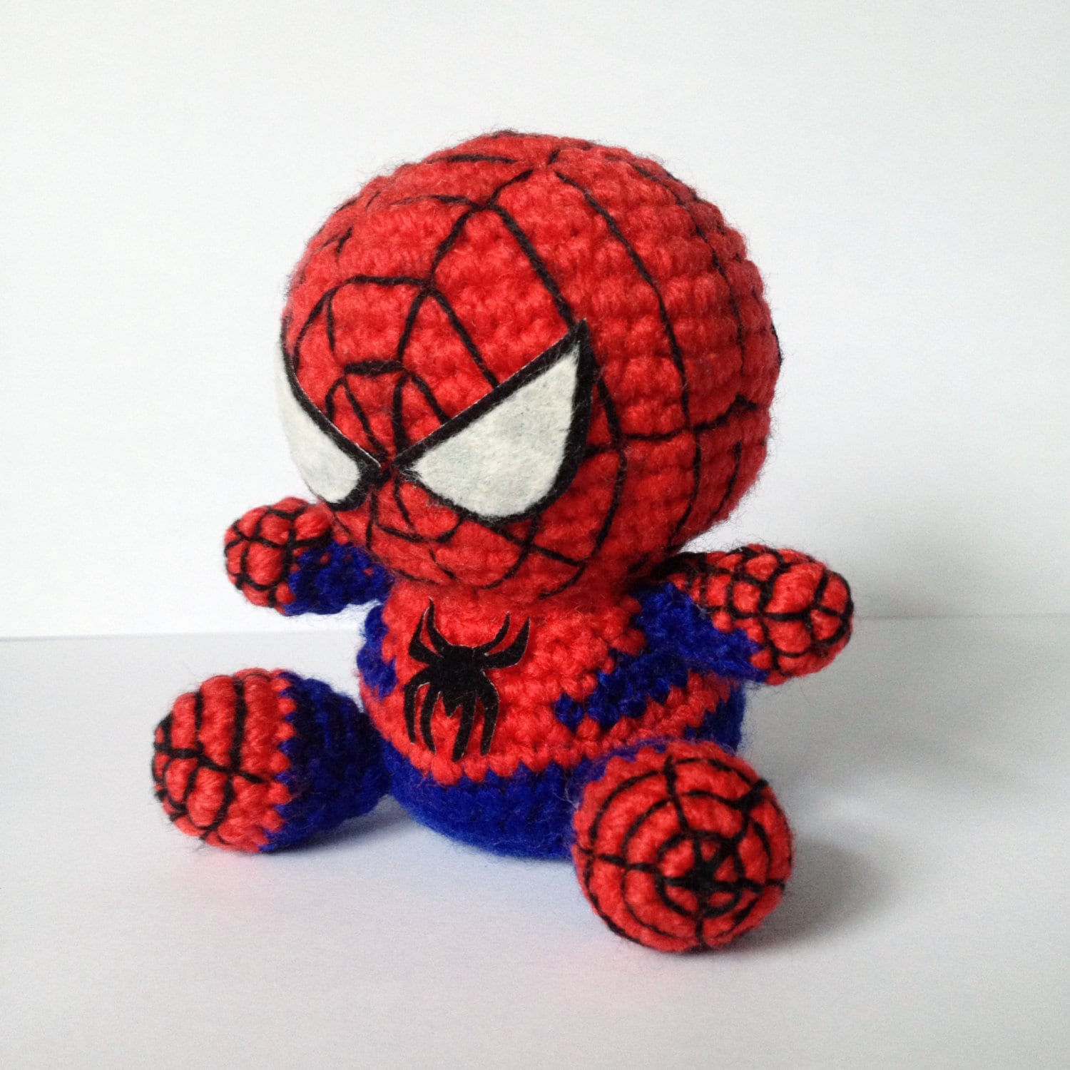 SPIDERMAN Amigurumi Pattern SuperHero Spider Marvel Easy DIY