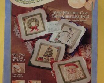 Handcast Christmas Gift Tag Kit