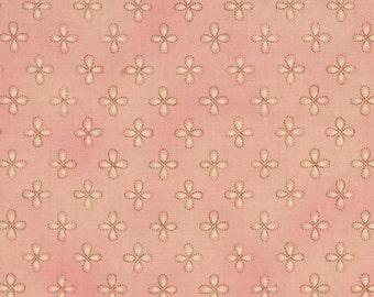 Moda Chez Moi Lulu Dainty Blush cotton fabric
