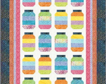 Jelly On Point Modern Quilt Pattern Quilts Patchwork