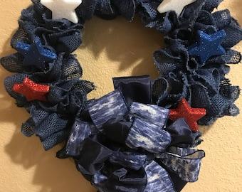 Sparkle star wreath