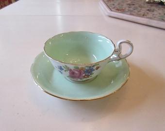 ENGLAND ROYAL GRAFTON Teacup and Saucer